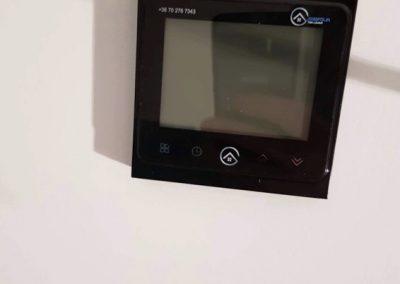 Elektromos fűtés termosztát