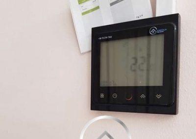 Infrafűtés termosztát